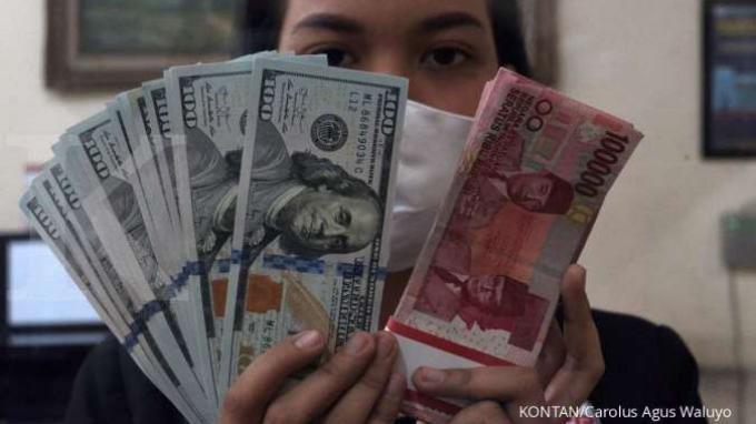 Menguat menuju Rp 14.042 Senin 1 Februari 2021 Nilai Tukar Rupiah terhadap Dolar AS Hari Ini
