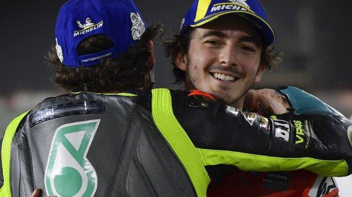 Pecco Bagnaia Tak Percaya Bisa Start Paling Depan RACE MotoGP Qatar 2021 Live TRANS7