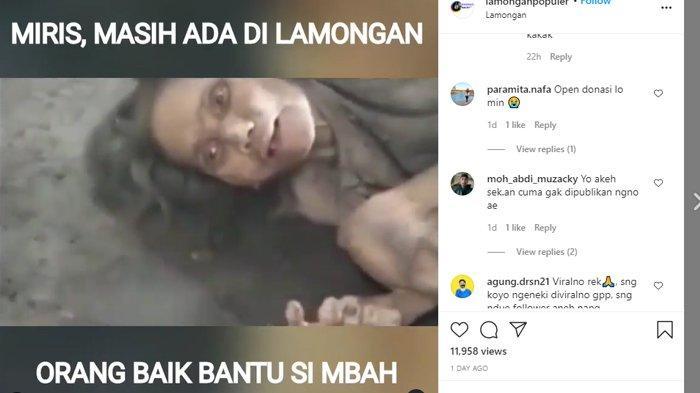 Pihak Keluarga Bantah Tak Mengurusnya dengan Baik VIRAL Video Kondisi Memprihatinkan Nenek Muntiah